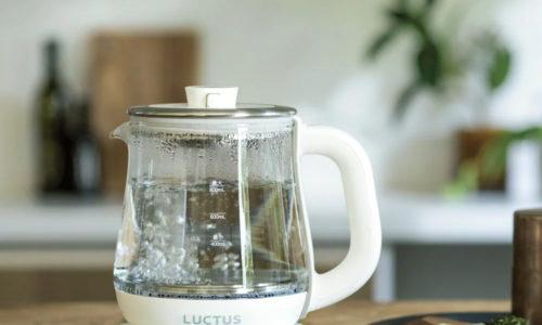 清潔に使えて湯量が見える!おしゃれなガラスタイプの電気ケトル10選