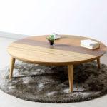 おしゃれな円形デザイン!あったかいコタツテーブルおすすめ10選