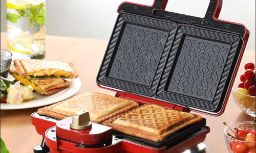 手軽におしゃれな朝食を!おすすめのホットサンドメーカー10選