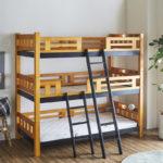 子供3人で寝れる!おしゃれな2段ベッド・3段ベッドのおすすめ10選