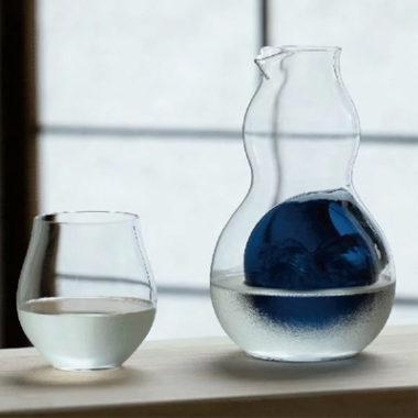 おしゃれなガラス製とっくり