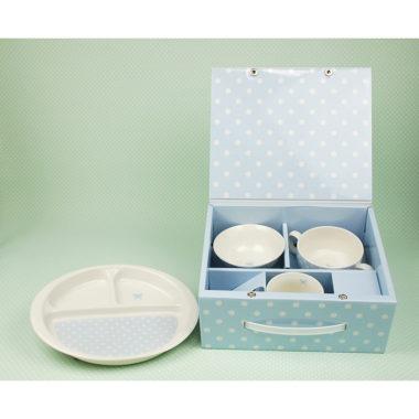 おしゃれな陶器製の子供用食器