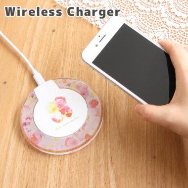 女性向けワイヤレスモバイルバッテリー