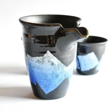 おしゃれな陶器製とっくり