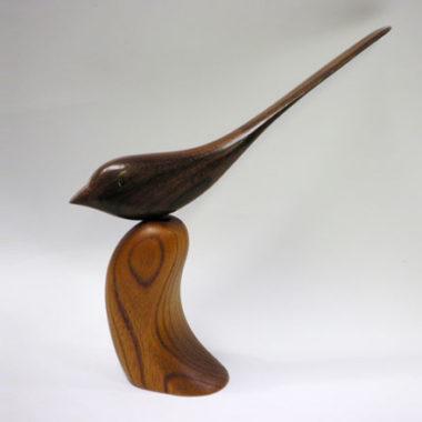 おしゃれな木製のペーパーナイフ