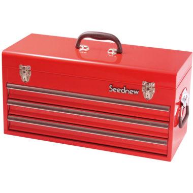 おしゃれな赤の工具箱