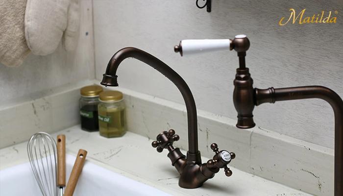 おしゃれな水栓