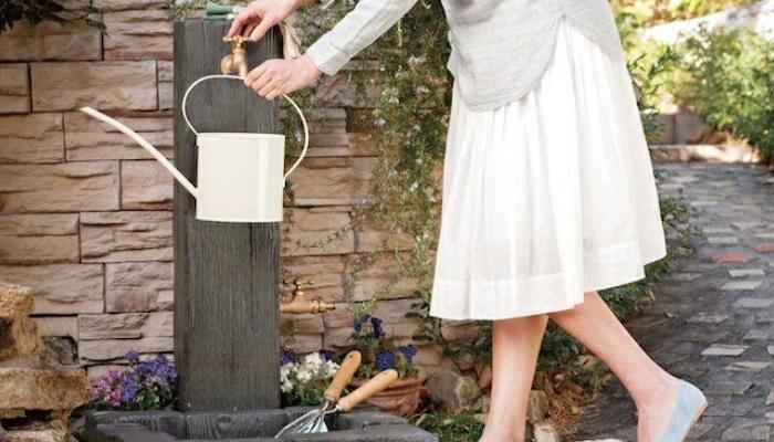 おしゃれな立水栓