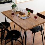 おうちでおしゃれに食事!おすすめカフェ風ダイニングテーブル10選