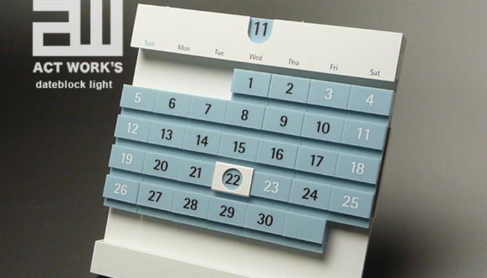 おしゃれな卓上カレンダー