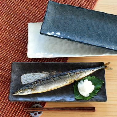 魚料理が映えるおしゃれな食器