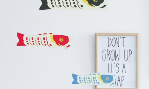 壁掛けOK!おしゃれな室内鯉のぼり10選【吊るし/モビール/壁飾り】
