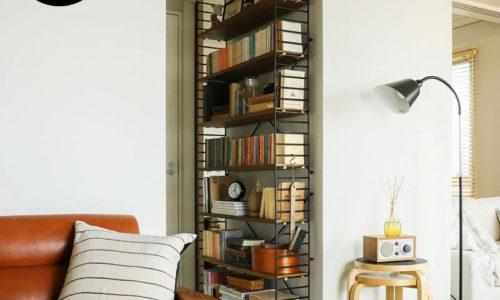 奥行きスリムで圧迫感なし!おしゃれな薄型本棚/書棚おすすめ10選